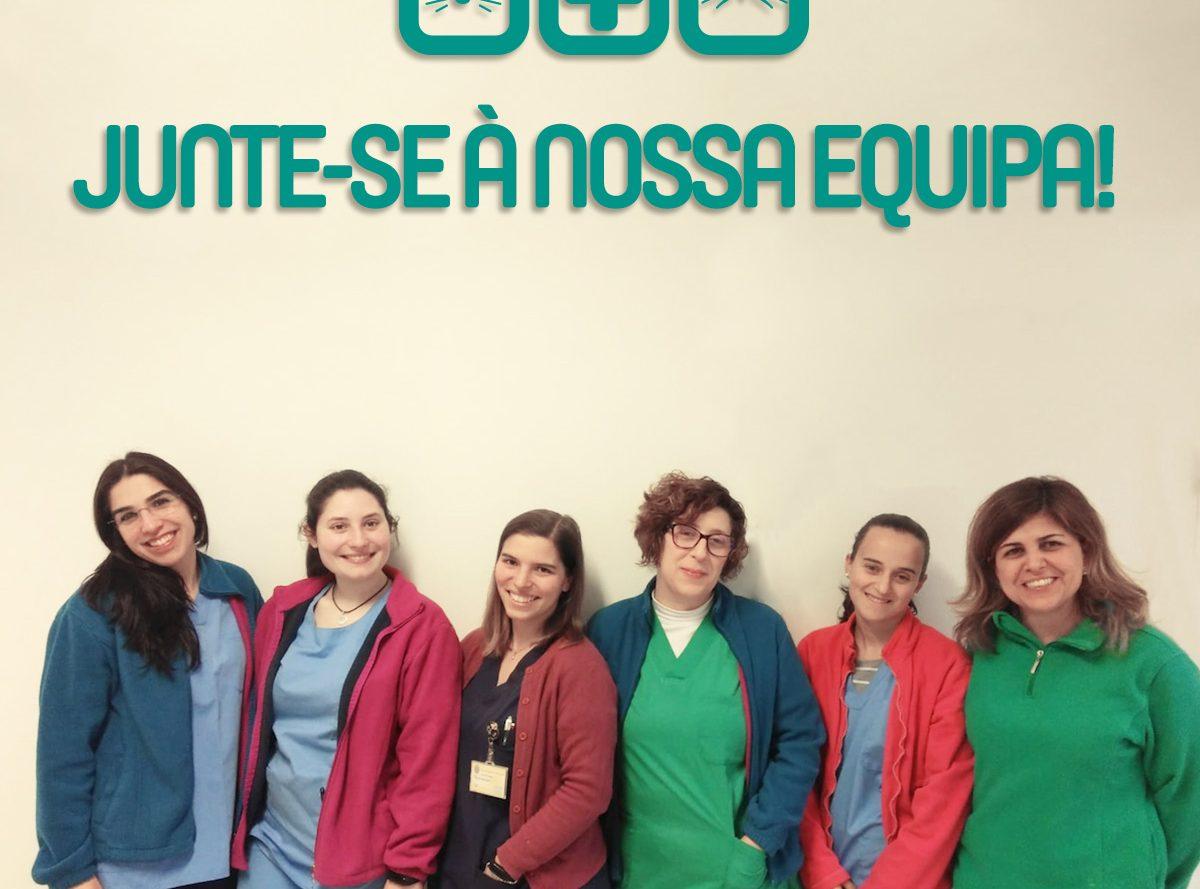 Centro Veterinário Encosta das Maias - Recrutamento